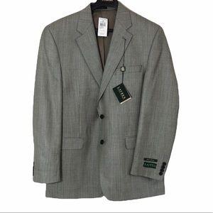 Ralph Lauren NWT Silk Wool Suit Jacket Sz 42L
